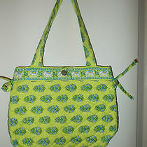 Vera Bradley Women's Shoulder Bag Purse Retired Citrus Elephant Button Closure Photo