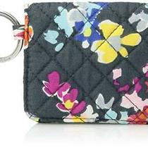 Vera Bradley Women's Signature Cotton Campus Double Id Case Wallet Pretty Posies Photo