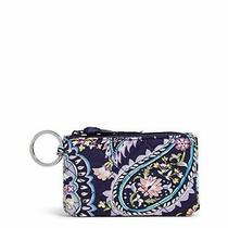 Vera Bradley Womens Signature Cotton Deluxe Zip Wallet With Rfid Protection I... Photo