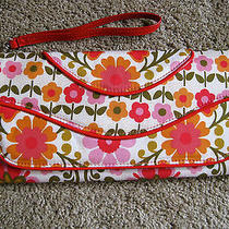 Vera Bradley Wrist Purse/clutch/wallet Floral Photo