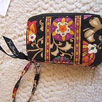 Vera Bradley Wristlet Clutch Wallet Cell Phone Case Photo