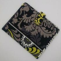 Vera Bradley Yellow and Black Pattern Wallet Excellent Condition Photo