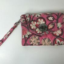 Vera Bradley Your Turn Smartphone Wristlet Blush Pink Pattern Photo