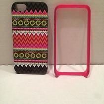 Vera Bradley Ziggy Zinnia Whimsy Hybrid 2 Pc Hard Case for Iphone 5 / 5s Photo