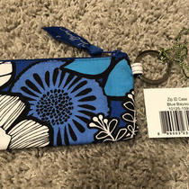 Vera Bradley Zip Id Case in Blue Bayou Nwt Photo