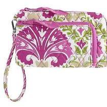 Vera Bradley Zip Zip Wristlet in Julep Tulip New Bag Wallet Photo
