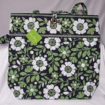 Vera Bradly Tote Lucky You 10449-203 Nwt New Quilted Bag Purse Green White Photo