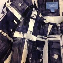 Vera Wang Blazer Petites M Med Pm 3/4 Sleeve Geometric Cotton Blend Vogue Style Photo