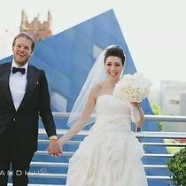 Vera Wang Diana Wedding Dress Size 8 Photo