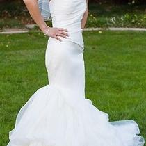 Vera Wang Fiona Wedding Dress Size 2 Photo