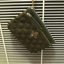 Vera Wang Forrest Green Wrist Handbag  Small Photo