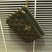Vera Wang Forrest Green Wrist Handbag  Small Photo