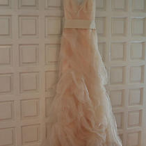 Vera Wang Gabriela Wedding Dress Size 10- Sample Peach Photo