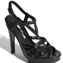 Vera Wang Indy Strappy Platform Sandals Size 6 Sling Back Gladiator New 395 Photo