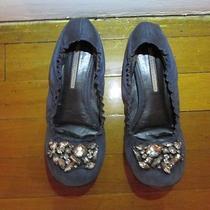 Vera Wang Lavender Label Authentic Ballerina Flats the Wedding Shoe Size 7.5 Photo