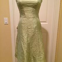 Vera Wang Light Green Strapless Formal Party Cocktail Dress Sz 10 426 Photo