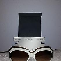 Vera Wang Luxe Sunglasses White Pearl Spectator 56-16-140 Photo