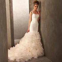 Vera Wang Mermaid Wedding Dress Photo