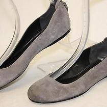 Vera Wang Mismatch 6.5 7 Hania Womens New Gray Leather Ballet Flats Shoes Wh Photo