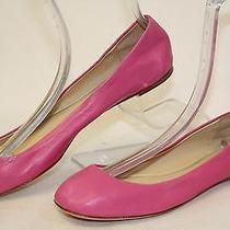Vera Wang Mismatch 8.5 9 Womens New Bubblegum Pink Leather Ballet Flats Shoes Wh Photo
