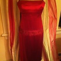 Vera Wang Silk Satin Dress Photo