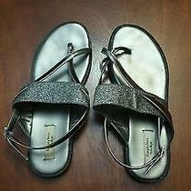 Vera Wang Silver/pewter Sandals Size 8.5 Ladies Nice Photo