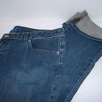 Vera Wang Simpley Vera Straight Jeans Size 8 Vgcuc Photo