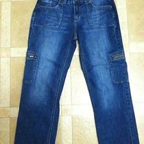 Vera Wang Simply Vera Cropped Capri Jeans Pants Sz 4 Photo