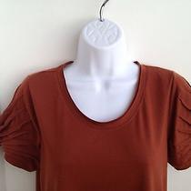 Vera Wang Solid Tee Size M Photo