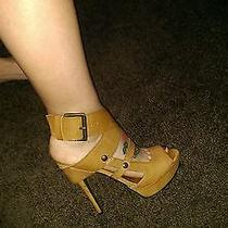 Vera Wang Tan Heels Photo