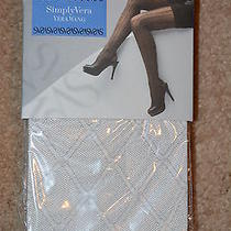 Vera Wang Tights - Dotted Grid - Drizzle - Ct - Size 3 Photo