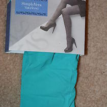Vera Wang Tights - Lightweight Opaque- Ct - Opal - Size 3 Photo