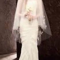 Vera Wang Wedding Dress - Ivory Size 2 - New With Tags Never Worn - Beautiful Photo