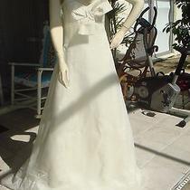 Vera Wang Wedding Dress Size 10 Color Beige Photo