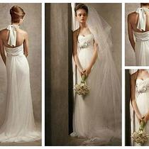 Vera Wang Wedding Dress Size 12 New Photo