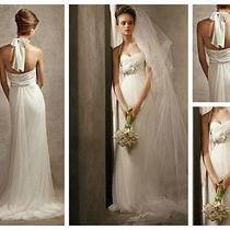 Vera Wang Wedding Dress Size 12 New Photo