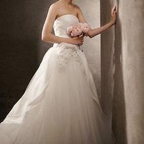 Vera Wang Wedding Dress Size 4 New Photo