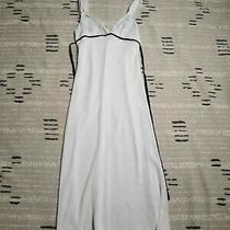 Vera Wang White Lace Lingerie Sleepwear Womens Sz S Sleeveless Tie Back Pullover Photo