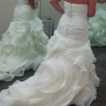 Vera Wang White Wedding Dress Photo