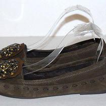 Vera Wang Womens Green Flats Shoe Size 5.5 M Photo