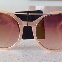 Versace 19v69 Leola v19.69 Italia Cat Eye Sunglasses Mirror Lens Blush/gold Photo