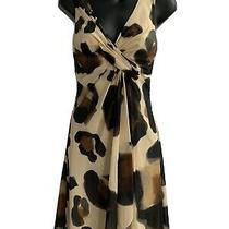 Versace Animal Print Dress Size 38 Photo