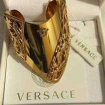 Versace Barocco Gold Cuff Bracelet (One of a Kind) Photo