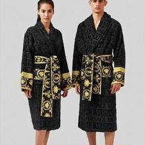 Versace Bathrobe 100% Cotton Robes Comforter Bathrobe Bathing Unisex Women's Day Photo