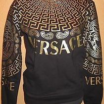 Versaceblack and Gold Sweatshirt No Size Photo