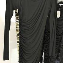 Versace Black Black Size Small Dress Photo