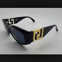 Versace Black Gold Sunglasses rare.new Photo