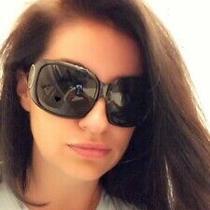 Versace Black Sunglasses With Swarovski Crystals Photo