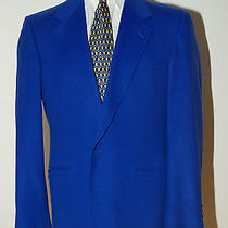 Versace Blue Blazer 44l Photo