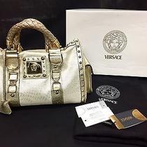 Versace Borsa in Tessuto Vitello Silk Handbag Photo